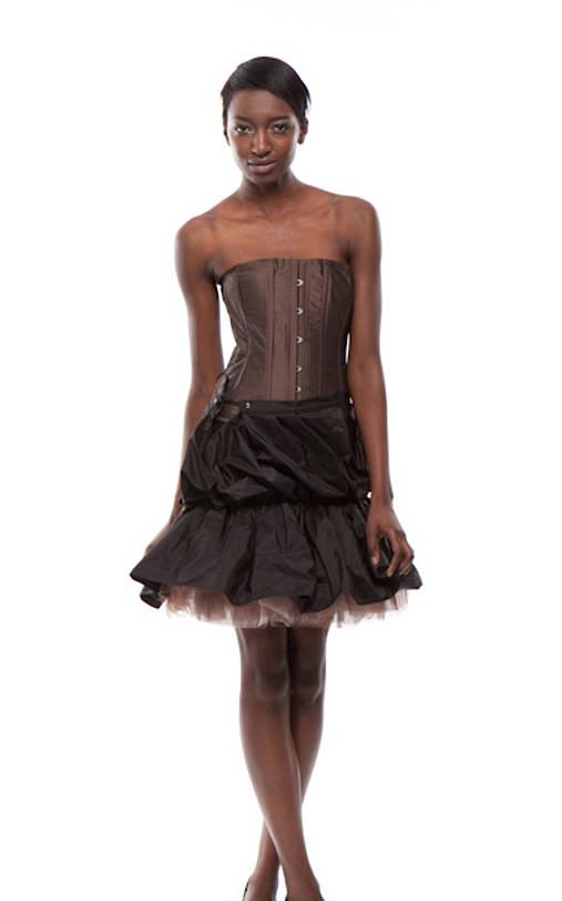 9d4c1eeff6f1 Extravagantné šaty Mollis   BeauteIntemporelle - SAShE.sk - Handmade ...