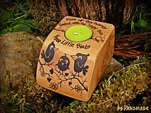 Svietidlá a sviečky - Three little birds - 4158222_