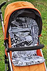 Textil - Vzor 89 - čiernobiely KOMIX - 4157979_