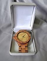 Náramky - SK8 v čase - Drevené hodinky - 4159027_