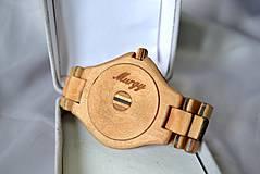Náramky - SK8 v čase - Drevené hodinky - 4159028_