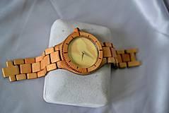 Náramky - SK8 v čase - Drevené hodinky - 4159029_