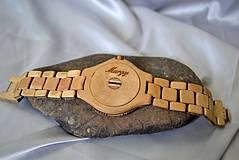 Náramky - SK8 v čase - Drevené hodinky - 4159030_