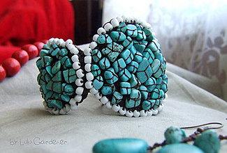 Sady šperkov - Náramok . Poklad kráľa Tyrkenita - 4158946_