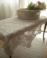 """Úžitkový textil - """"O""""...Pokrývka pre Pána Stolíkového - 4158717_"""
