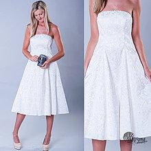 Šaty - Svadobné šaty v retro štýle rôzne farby - 4158190_