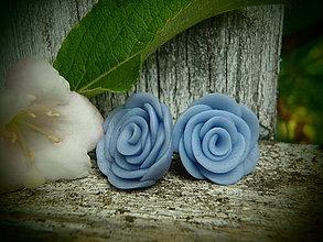 Náušnice - Rose 2. - 4158836_