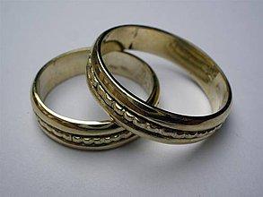 Prstene - svadobné obrúčky - 4161972_