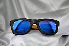 Iné doplnky - Double-coloured Model 01- Drevené okuliare - 4160223_