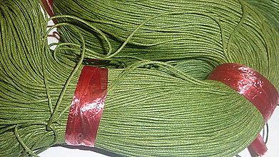 Galantéria - Voskovaná olivová niť 0,8mm XVII - 4160735_