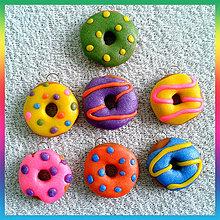 Kľúčenky - Koblihy - šišky - doughnuts NA ZÁKAZKU - 4159356_