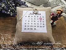Drobnosti - kalendarikova SVADBA... - 4165016_