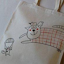 Veľké tašky - PARAGÁNSKÁ - nákupní taška - 4164821_