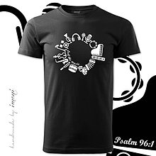Tričká - Pánske tričko john MUSIC - 4164309_