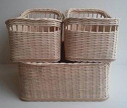 Košíky - špajzovníky pre ammirante - 4168311_