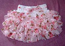 Detské oblečenie - Volánová sukienka - 4172768_