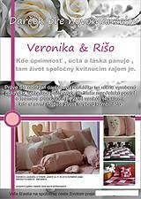 Úžitkový textil - darčeková poukážka  pre novomanželov - 4173201_