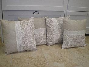 Úžitkový textil - Vankúšiky pre Tinu - 4170910_