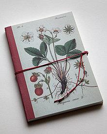 Papiernictvo - Zápisník - Jahoda - 4175436_