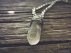 Náhrdelníky - Small Crystal Diamond - 4176834_