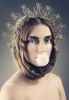 """Ozdoby do vlasov - Venček """"Gaia"""" - 4174066_"""