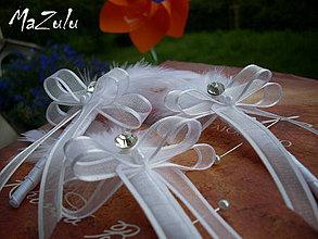 Pierka - svad.pierko so štrasovým kamienkom č.2 - 4175871_