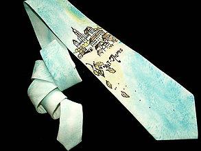 Doplnky - Hodvábna kravata Mestečko - 4174676_