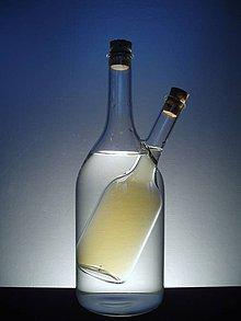 Nádoby - Olej a ocet LÁHEV v LÁHVI - 4182463_