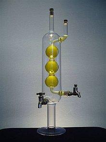 Nádoby - Alkoholová věž s kuličkami - 4182586_