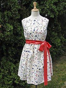 Šaty - Kvetinové šaty - 4183787_