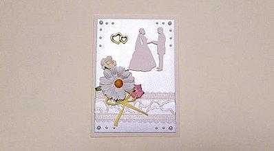 Papiernictvo - Pohľadnica Svadobná 02 - 4185704_