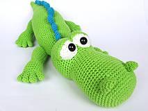 Návody a literatúra - Krokodýl Alfréd - návod - 4187182_