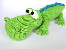 Návody a literatúra - Krokodýl Alfréd - návod - 4187183_