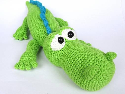 Krokodýl Alfréd - návod