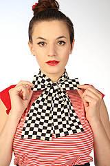 Šály - Šachovnice - šálka - 4189523_