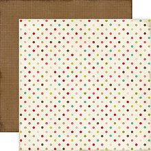 Papier - papier 30x30 Echo Park Paper This&That - Dots - 4189794_