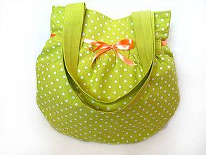 Veľké tašky - Dotted VI. - veľká taška - 4187783_