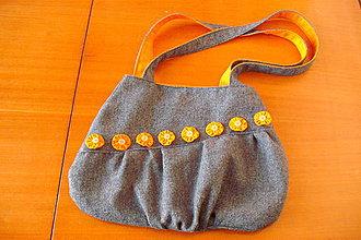 Veľké tašky - Dotted Orange I. veľká taška - 4187842_