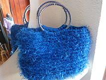 Kabelky - AKCIA...kabelka LUXOR II - modrá...pôvodne 35 EUR !! - 4191338_