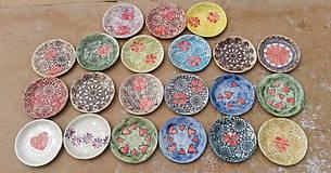 Nádoby - Sada 21 ks tanierikov na koláčiky 12cm - 4190592_