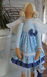 Bábiky - Modrá ako obloha - 4193759_