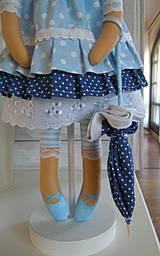 Bábiky - Modrá ako obloha - 4193761_