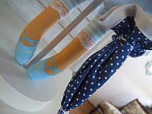 Bábiky - Modrá ako obloha - 4193764_
