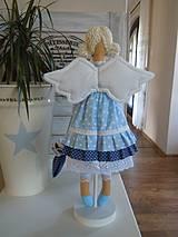 Bábiky - Modrá ako obloha - 4193766_