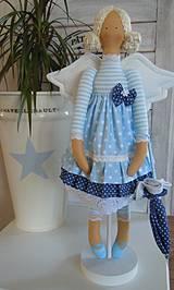 Bábiky - Modrá ako obloha - 4193767_