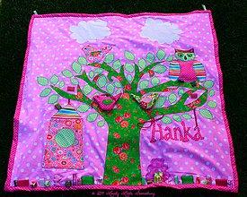 Hračky - Hracia deka pre Hanku - 4191626_