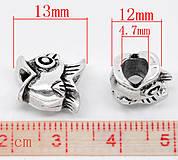 Komponenty - Prívesok rybička na pandorkové náramky - 4190097_