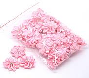 - Saténové kvetinky (balíček 20ks) - 4190269_