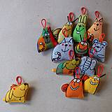 Kľúčenky - MALIČCÍ - hračky do kapsy - 4194248_