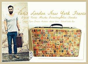 Iné tašky - kufrík Stamp - 4197483_